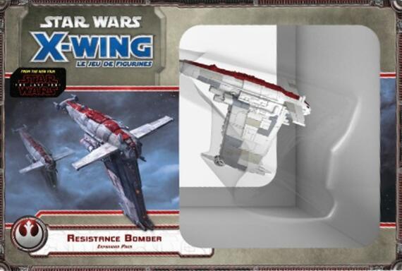 Star Wars: X-Wing - Le Jeu de Figurines - Bombardier de la Résistance