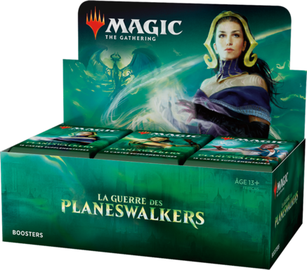 Magic: The Gathering - La Guerre des Planeswalkers - Boosters