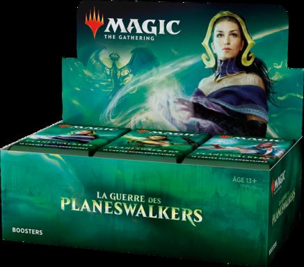 Magic: The Gathering - La Guerre des Planeswalkers - Boosters