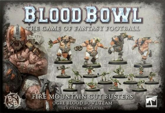 Blood Bowl: Le Jeu de Football Fantastique - Fire Mountain Gut Busters