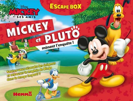 Escape Box: Mickey et ses Amis - Mickey et Pluto Mènent l'Enquête !