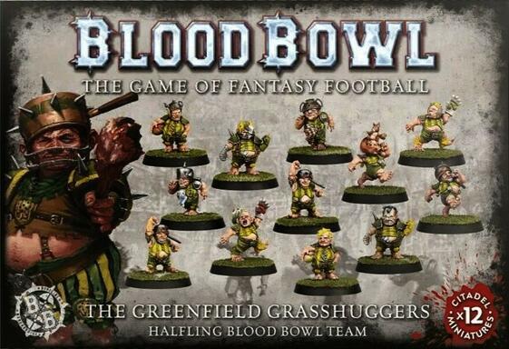 Blood Bowl: Le Jeu de Football Fantastique - The Greenfield Grasshuggers