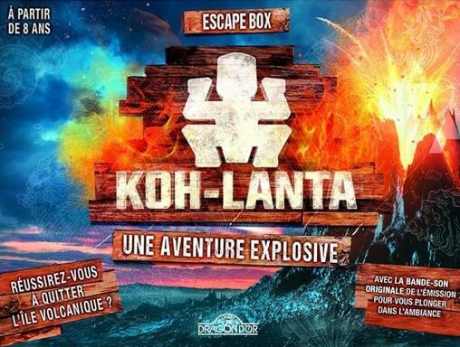 Escape Box: Koh-Lanta - Une Aventure Explosive