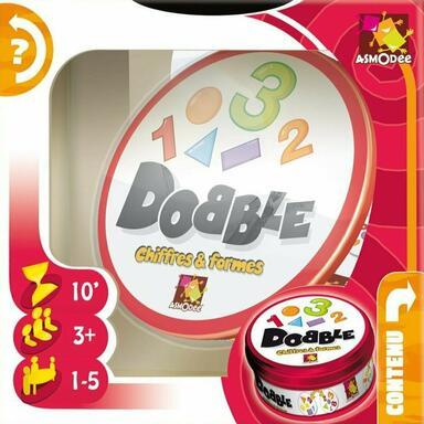 Dobble: Chiffres et Formes