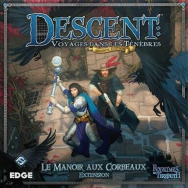 Descent: Voyages Dans les Ténèbres (Seconde Édition) - Le Manoir aux Corbeaux