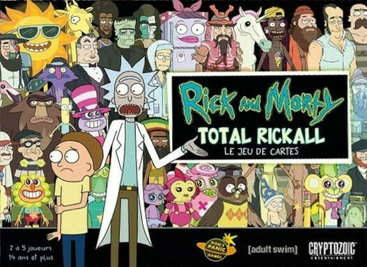 Rick and Morty: Total Rickall - Le Jeu de Cartes