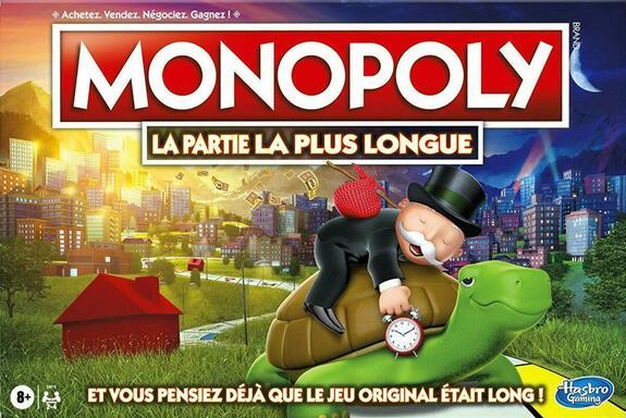 Monopoly: La Partie la Plus Longue