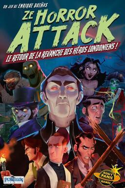 Ze Horror Attack: Le Retour de la Revanche des Héros Londoniens !