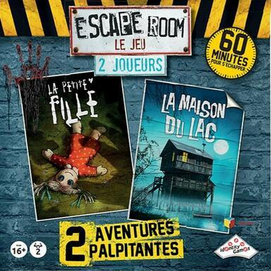 Escape Room: Le Jeu - 2 Joueurs - La Petite Fille/La Maison du Lac