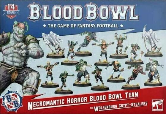 Blood Bowl: Le Jeu de Football Fantastique - Necromantic Horror Blood Bowl Team