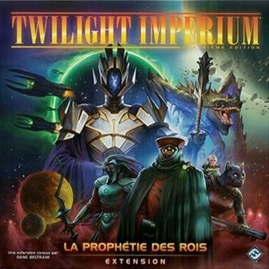 Twilight Imperium: Quatrième Edition - La Prophétie des Rois