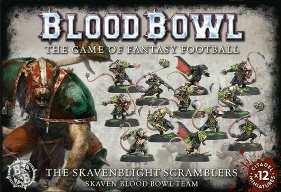 Blood Bowl: The Game of Fantasy Football - The Skavenblight Scramblers
