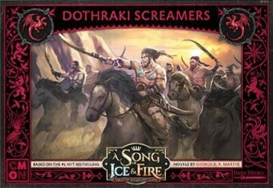 Le Trône de Fer: Le Jeu de Figurines - Hurleurs Dothraki