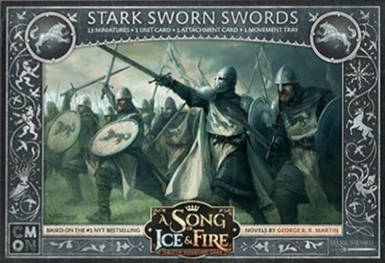 Le Trône de Fer: Le Jeu de Figurines - Épées Liges Stark