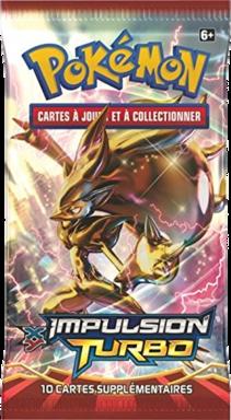 Pokémon: XY - Impulsion Turbo - Booster