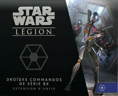Star Wars: Légion - Droïdes Commandos de Série BX