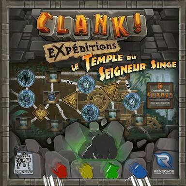 Clank ! Les Aventuriers du Deck-Building - Expéditions - Le Temple du Seigneur Singe
