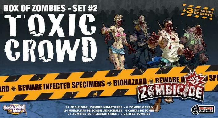 Zombicide: Box of Zombies Set #2 - Toxic Crowd