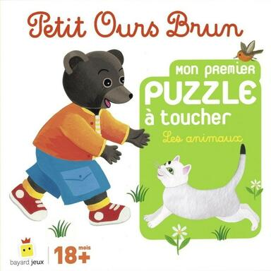 Petit Ours Brun: Mon Premier Puzzle à Toucher - Les Animaux