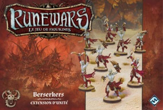 Runewars: Le Jeu de Figurines - Berserkers