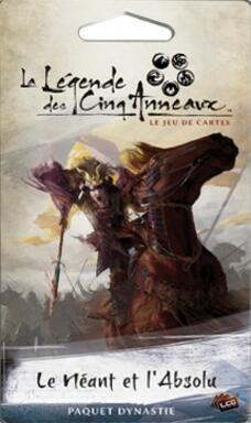 La Légende des Cinq Anneaux: Le Jeu de Cartes - Le Néant et l'Absolu