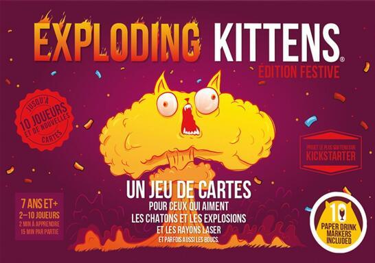 Exploding Kittens: Édition Festive