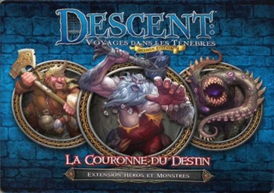 Descent: Voyages Dans les Ténèbres (Seconde Édition) - La Couronne du Destin