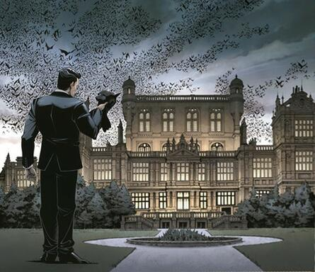 Batman: Gotham City Chronicles - Wayne Manor