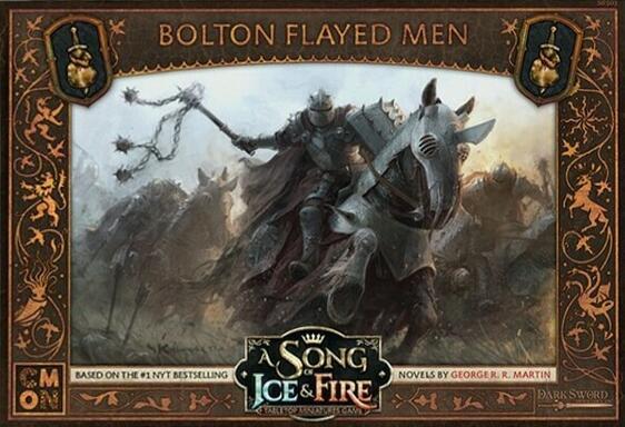 Le Trône de Fer: Le Jeu de Figurines - Écorchés de la Maison Bolton