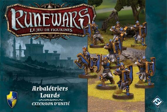 Runewars: Le Jeu de Figurines - Arbalétriers Lourds