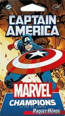 Marvel Champions: Le Jeu de Cartes - Captain America
