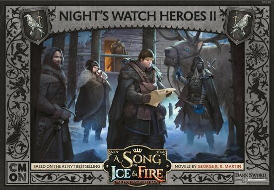 Le Trône de Fer: Le Jeu de Figurines - Héros de la Garde de Nuit II