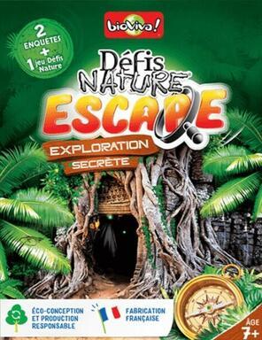 Défis Nature: Escape - Exploration Secrète