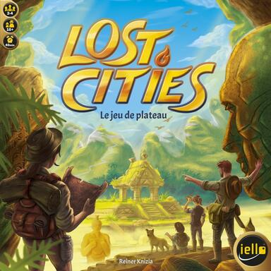 Lost Cities: Le Jeu de Plateau