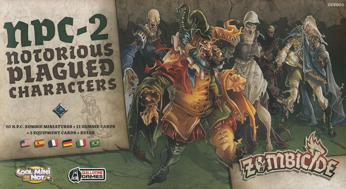 Zombicide: Black Plague - NPC-2 - Notorious Plagued Characters