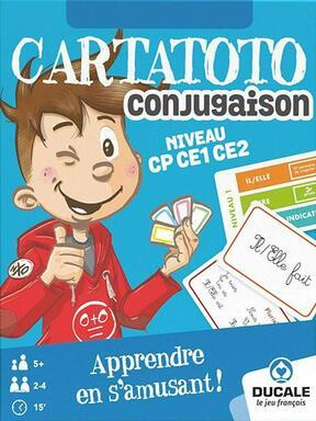 Cartatoto: Conjugaison - Niveau CP CE1 CE2