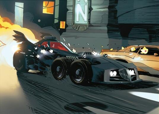 Batman: Gotham City Chronicles - The Batmobile