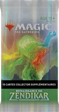 Magic: The Gathering - Renaissance de Zendikar - Collector Booster