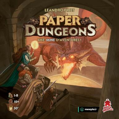 Paper Dungeons: Une Mine d'Aventures !