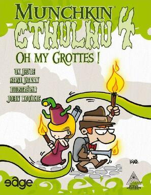 Munchkin: Cthulhu 4 - Oh my Grottes !