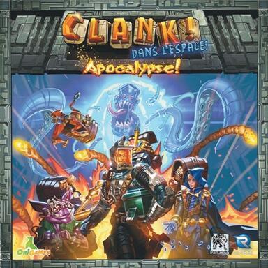 Clank ! Dans l'Espace - Les Aventuriers du Deck-Building - Apocalypse