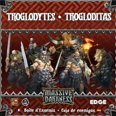 Massive Darkness: Boîte d'Ennemis - Troglodytes