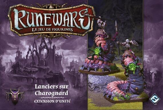 Runewars: Le Jeu de Figurines - Lanciers sur Charognard