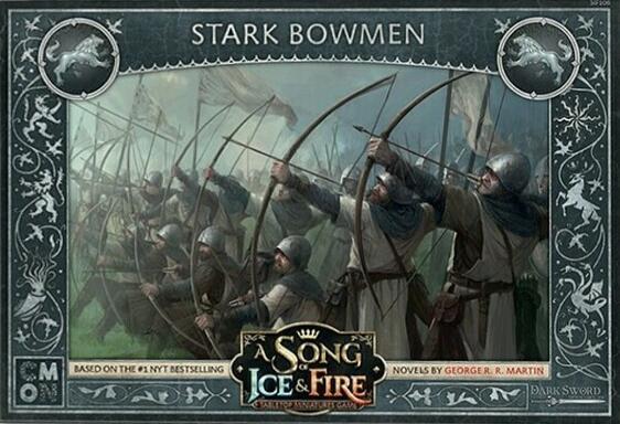 Le Trône de Fer: Le Jeu de Figurines - Archers Stark