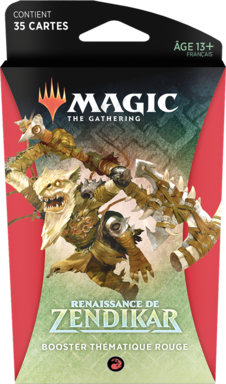 Magic: The Gathering - Renaissance de Zendikar - Booster Thématique Rouge