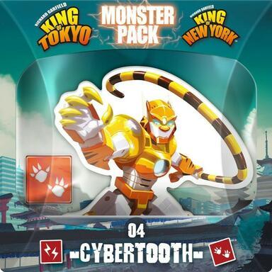 King of Tokyo/New York: Monster Pack - Cybertooth