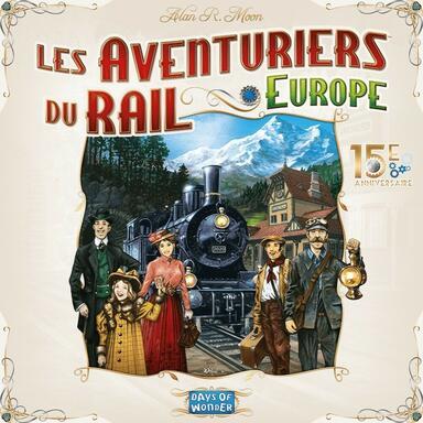 Les Aventuriers du Rail: Europe - 15ème Anniversaire