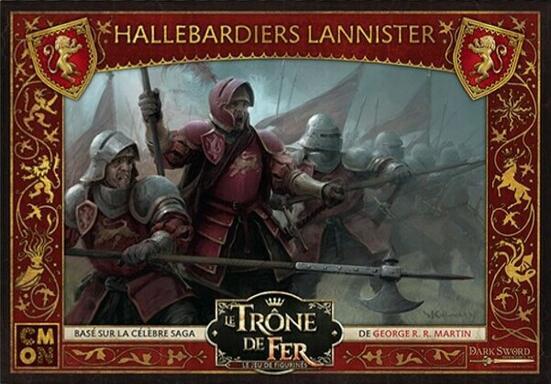 Le Trône de Fer: Le Jeu de Figurines - Hallebardiers Lannister