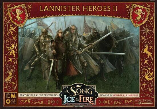 Le Trône de Fer: Le Jeu de Figurines - Héros Lannister II
