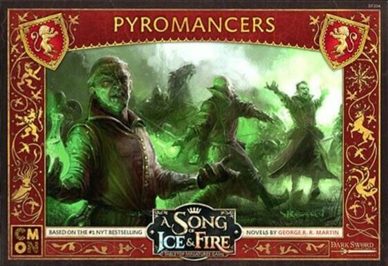 Le Trône de Fer: Le Jeu de Figurines - Pyromanciens